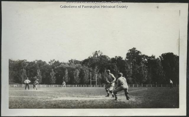 Baseball in Farmington, 1921