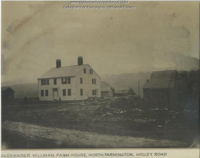 Alexander Hillman Farmhouse, North Farmington