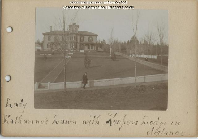 Green Acres with Keepers Lodge, Farmington, ca. 1890