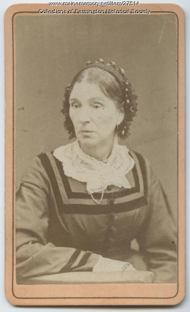 Mary Pettengill Hillman carte de visite, circa 1875