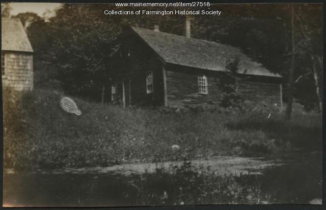 Old Sap House, Farmington, circa 1915