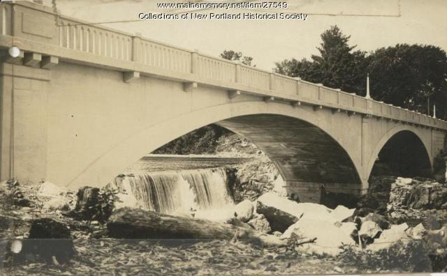 East New Portland Bridge, circa 1925