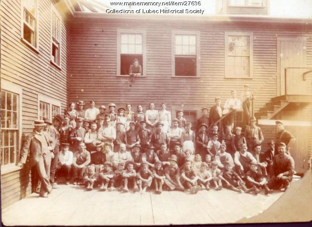 Battle-Axe Factory, Lubec, 1900