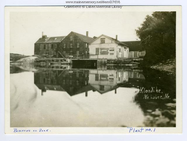 Electrolytic Marine Salts Co., Mill Creek, North Lubec, ca. 1940