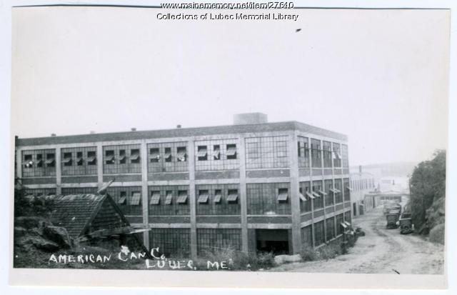 American Can Company, Lubec, ca. 1935