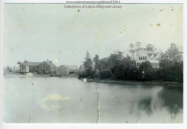 Electrolytic Marine Salts Co.(Klondike) Plant No.1, North Lubec, ca. 1930