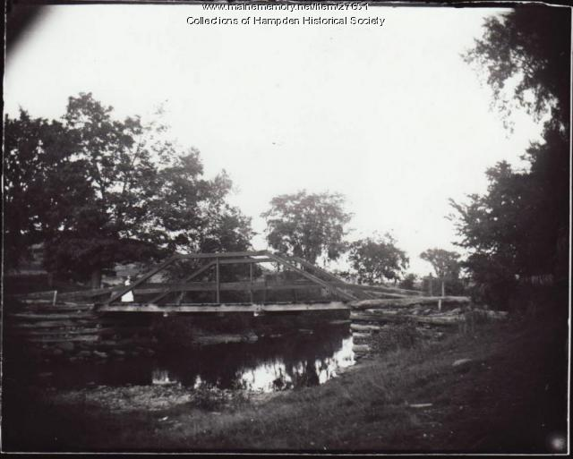 Bridge, Elm Street West, Hampden, 1891