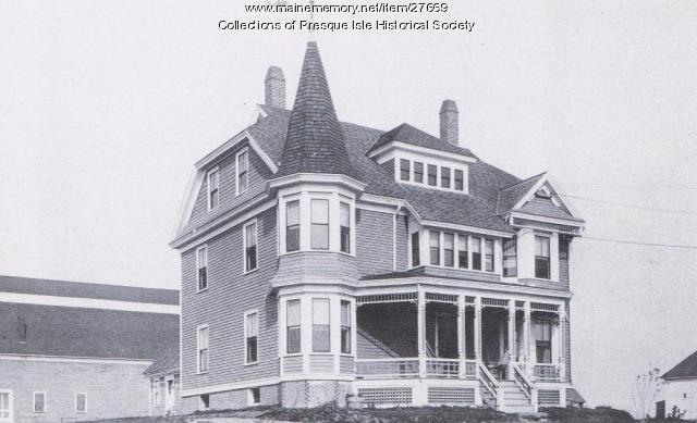 Arthur R. Gould home, Presque Isle, 1895