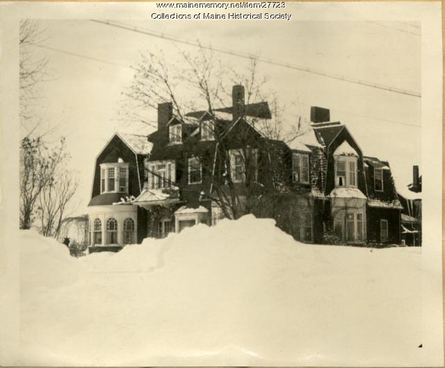 W.H Gannett home, Augusta, ca. 1923
