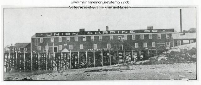Union Sardine Company, Lubec, ca. 1945