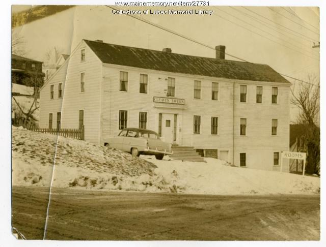 Cleaves Tavern, Lubec, 1955