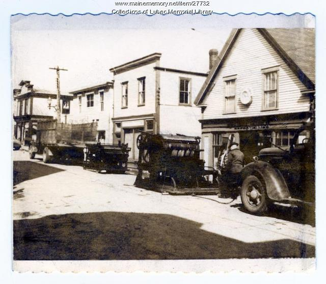 Lubec Herald Office, Lubec, ca. 1950