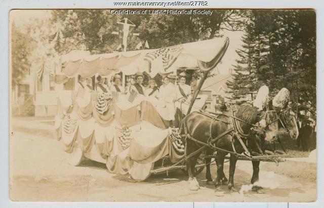Centennial Parade, Lubec, July 4, 1911