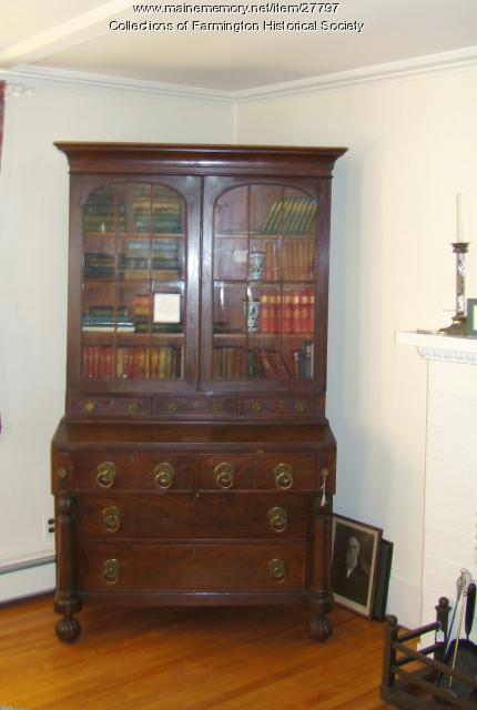 Jacob and Lyman Abbott's Desk, Farmington, ca. 1830