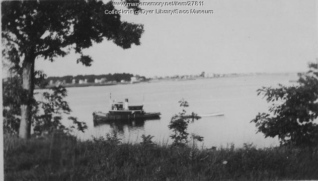 tugboat  saco river  ca  1910