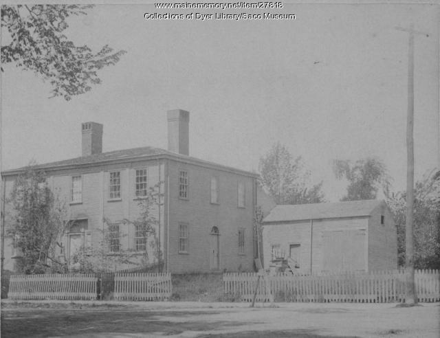 Nye House, Main Street, Saco, ca. 1900
