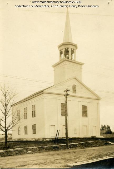 Old Church on the Hill, Thomaston, ca. 1950