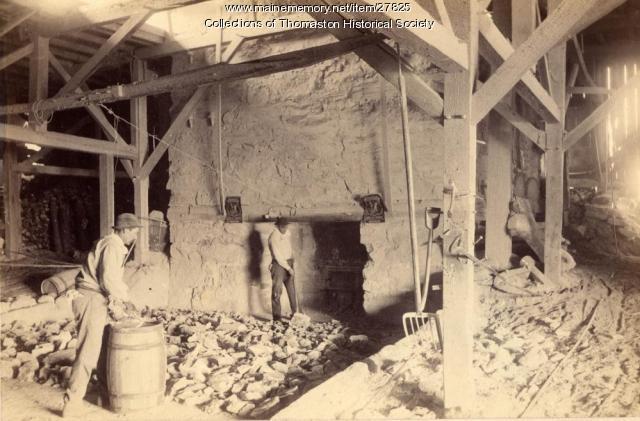Creighton Kiln Base, Thomaston, 1900