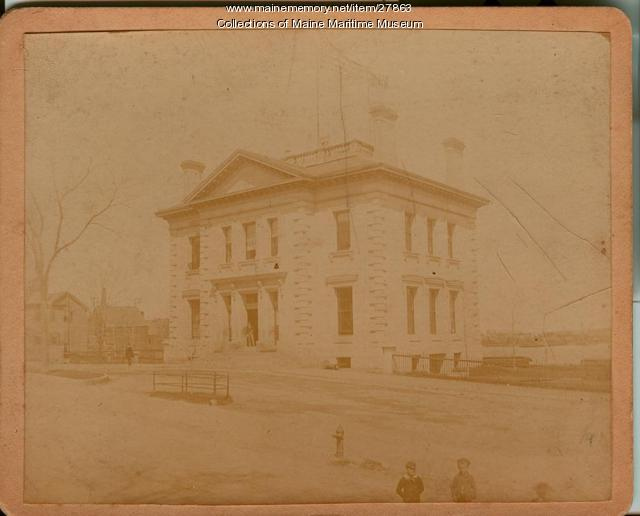 Customs House, Bath, ca. 1890