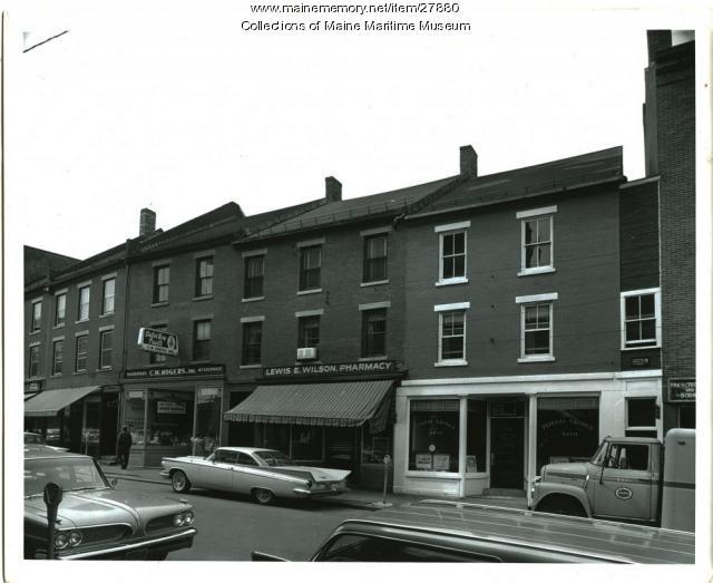 106-118 Front Street, Bath, ca. 1950
