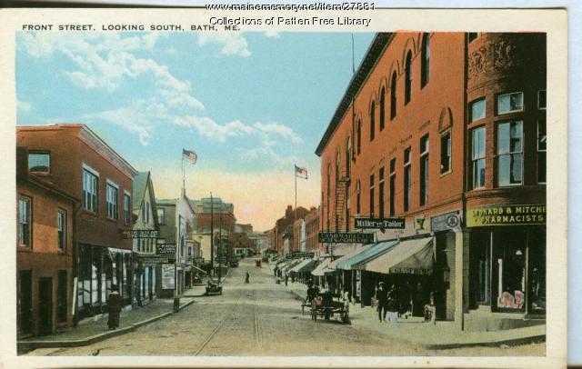Front Street, Bath, ca. 1915