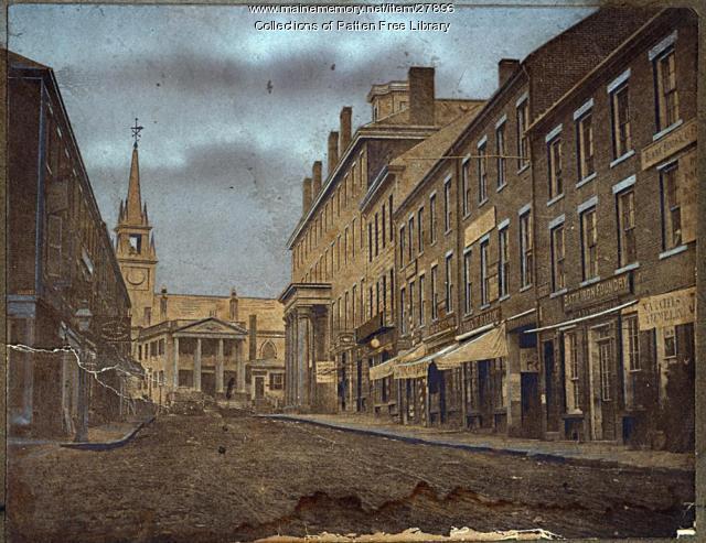 Front Street, Bath, ca. 1855