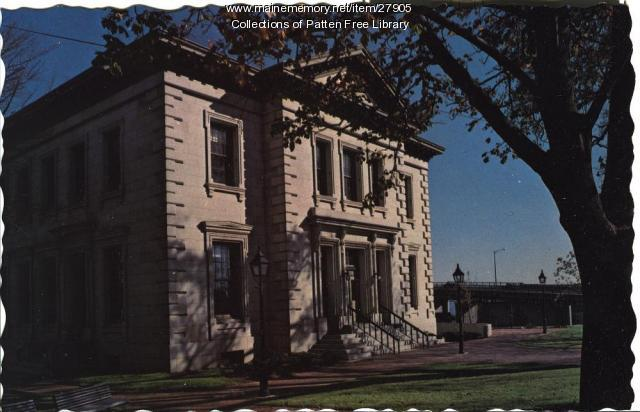 Customs House, Bath, ca. 1978