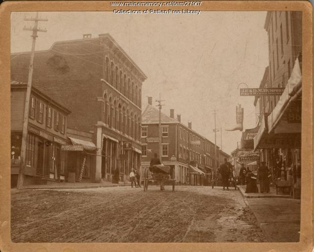 Front Street at Arch Street, Bath, ca. 1892