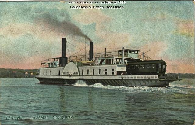 Train Ferry Hercules, Bath, ca. 1908