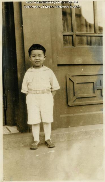 Raymond L. M. Huang, Bangor, 1929
