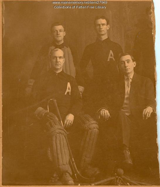 Alameda Roller Polo Players, Bath, ca. 1895