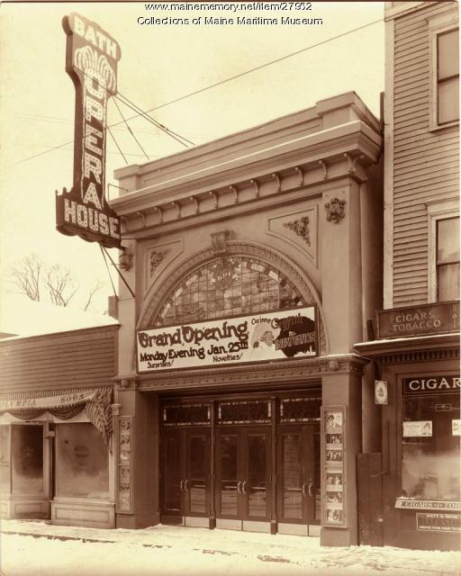 Bath Opera House reopening, 1926