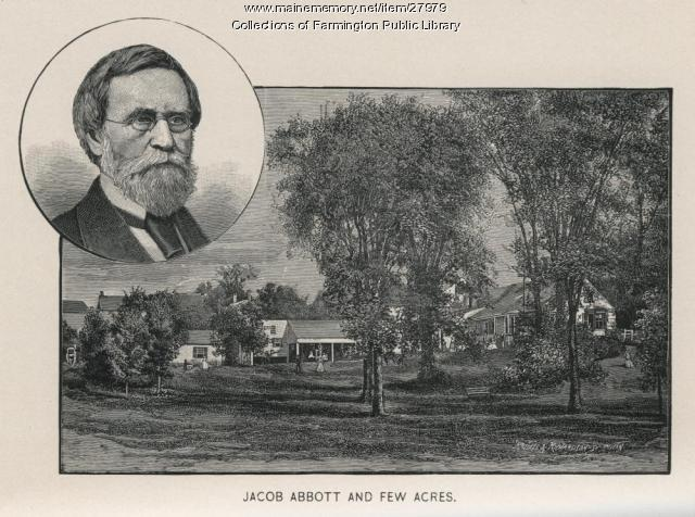 Jacob Abbott and Fewacres, Farmington, 1903