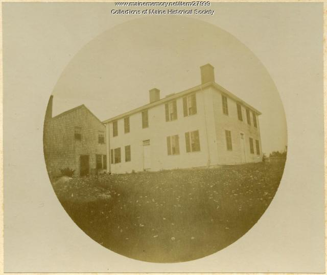 Pierce homestead, West Baldwin, 1894