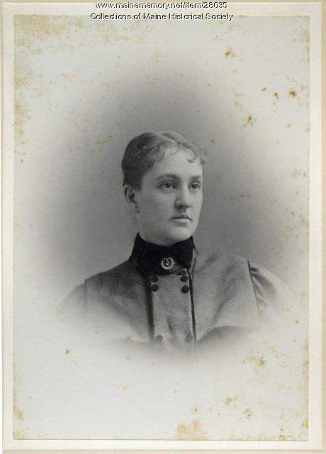 Emma Shirley Waterman, Gorham, 1895