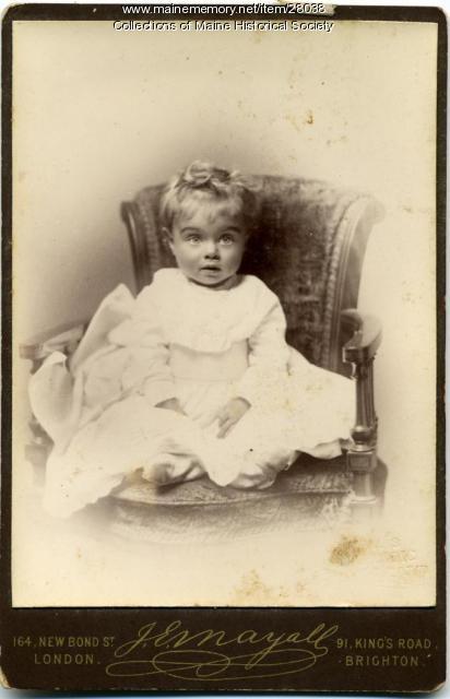 Dorothy Pierce, London, 1882