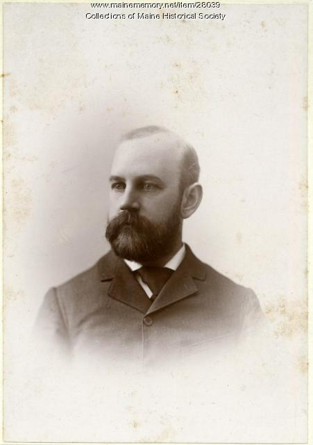 John A. Waterman, Gorham, 1895