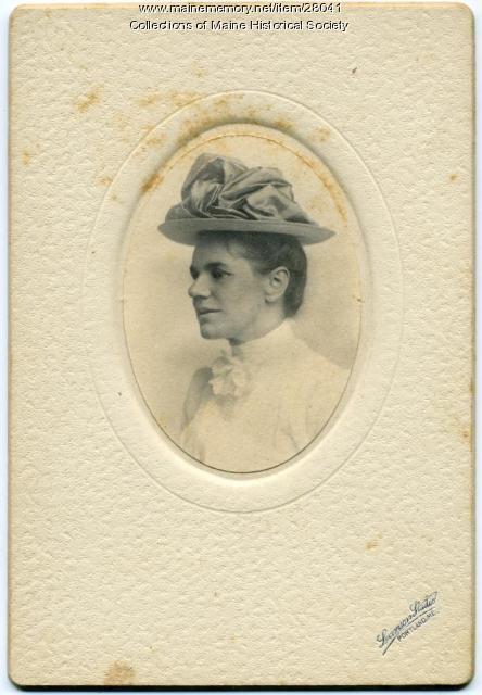 Margaret Waterman, Gorham, 1902