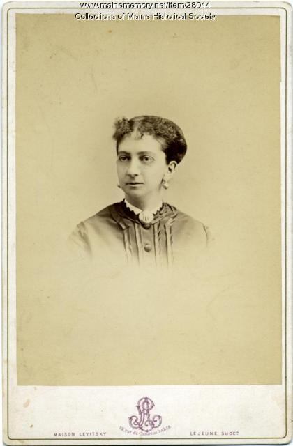 Martha Lander Pierce, Paris, ca. 1860