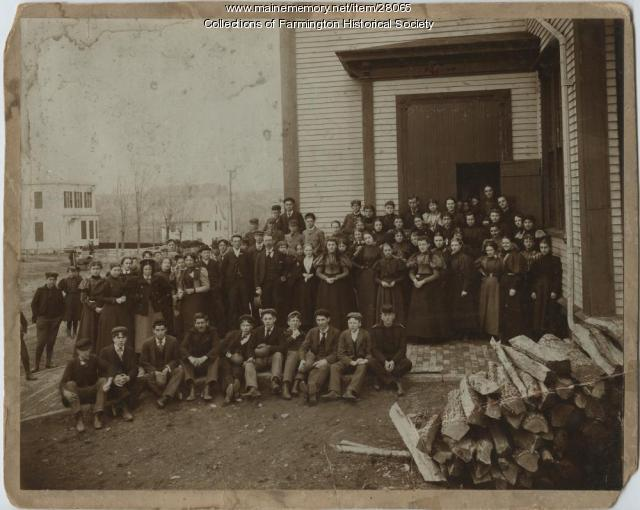 Farmington High School Students, 1897