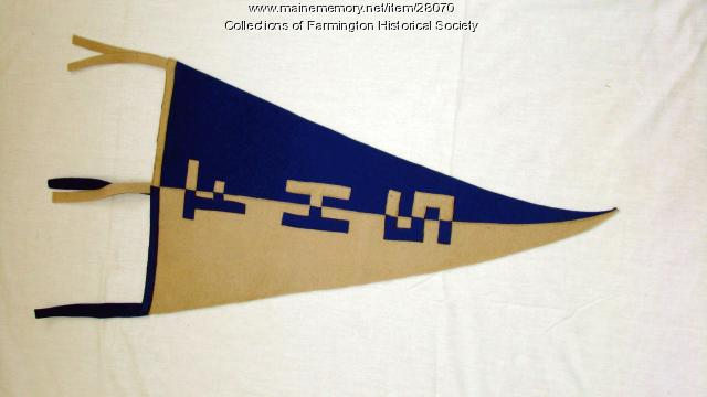 Farmington High School Pennant, ca. 1940