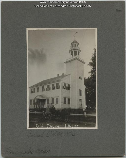 Center Meetinghouse, Farmington, ca. 1860