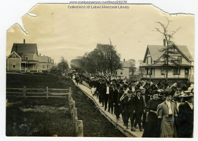 Memorial Day Parade, Lubec, ca. 1910