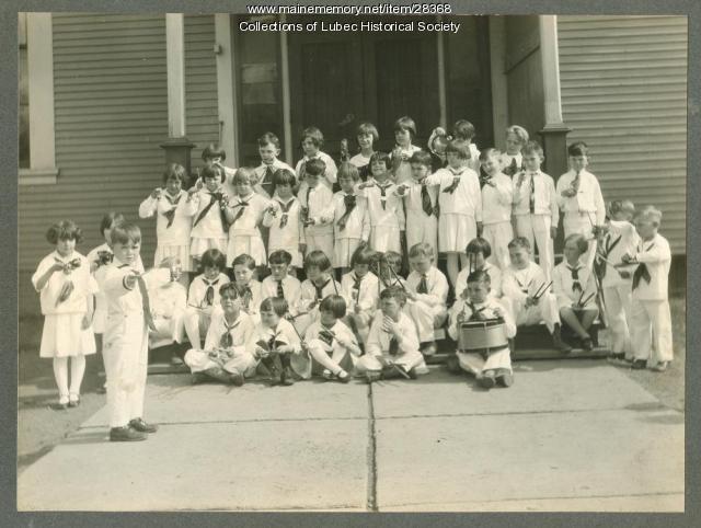 Toy Band, Lubec, ca. 1929