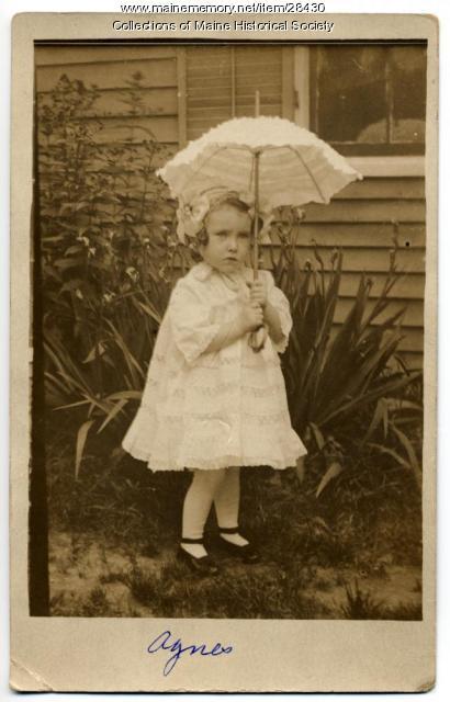 Agnes G. Kerr, Portland, ca. 1911