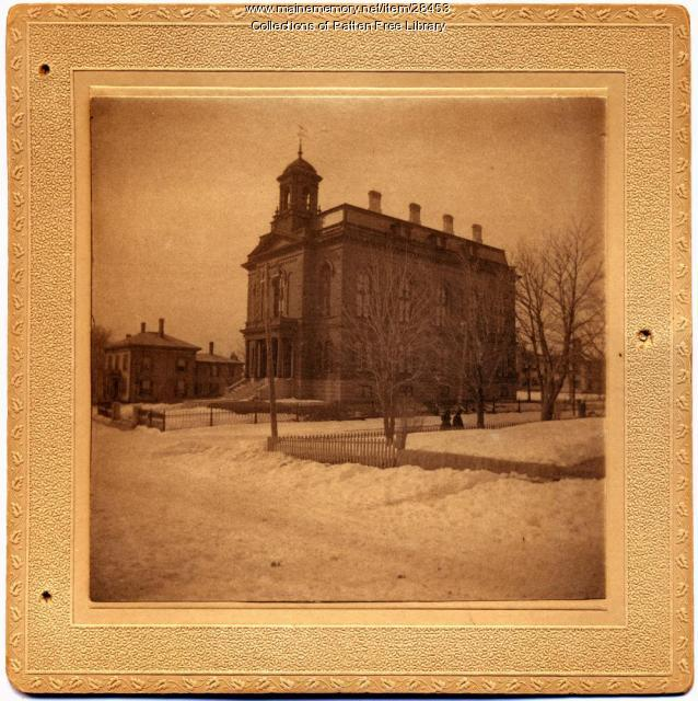 Sagadahoc County Courthouse, Bath , ca. 1885