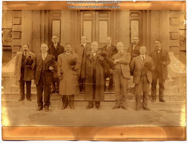 1910 Sagadahoc County Judges