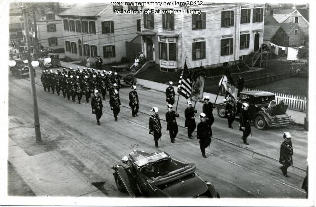 Masonic Parade, Bath, ca. 1925