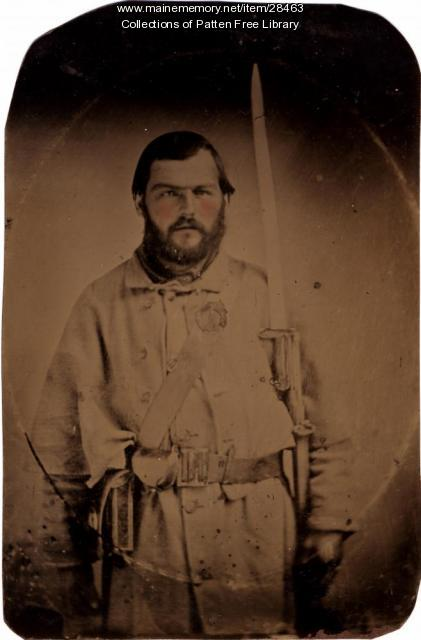 George Pepper, Civil War, ca. 1861