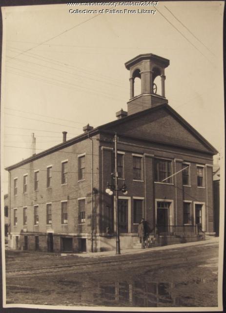 Former Town/City Hall, Bath, ca. 1933
